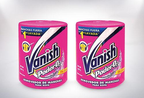 Pack 2 Vanish Polvo 450 gr. White