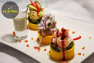 Menú Peruano para 2 en Ají Amarillo