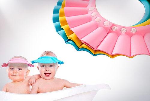 OUTLET - Gorro Vicera Sombrero De Baño Niños Bebes Amarillo