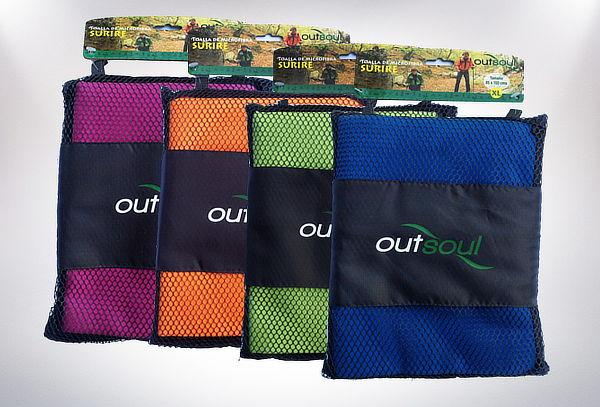 OUTLET - Toalla Microfibra Ultradelgada Outsoul Surire