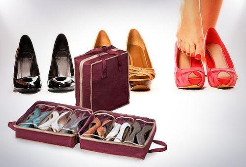 OUTLET - Organizador De Zapatos Maleta