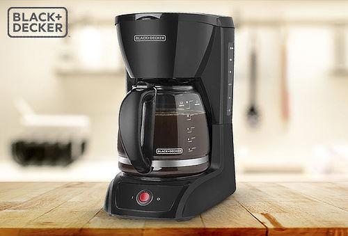 OUTLET - Cafetera Blackdecker Cm1201b
