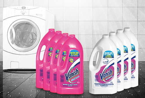 OUTLET - Vanish Liquido 925ml Vanish Pack 4 Unidades Vanish Liquido Rosa 925ml