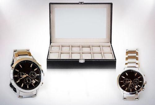OUTLET - Caja De Relojes Medidas Caja 12 relojes