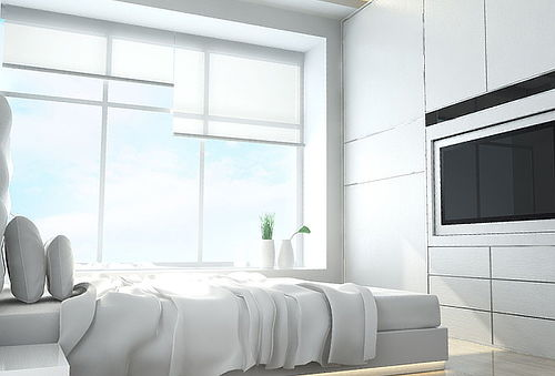 OUTLET - Cortinas Roller Screen Tamaños Colores Beige Y Blanco