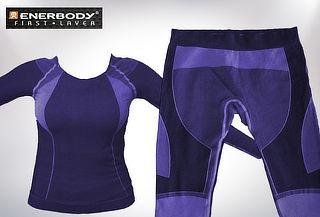 OUTLET - Polera Y/ O Pantalon Mujera Enerbody Primera Capa Polera + Pantalón primera capa