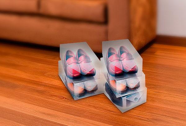 50% Pack de 5 Cajas para Organizar Botas