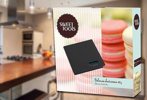 Balanza Electrónica de Cocina Sweet Tools