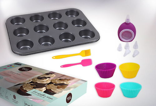 Set Cupcakes de 22 Piezas, Sweet Tools!