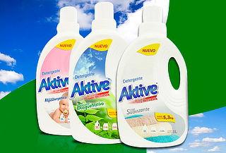 Pack de 3 variedades de detergentes Aktive