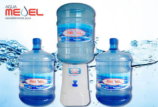 Pack 2 Botellones de Agua  20 lts c/u + Opción Dispensador