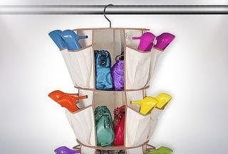 Organizador de Zapatos y Carteras 360°