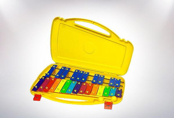 Metalófono 25 Notas de Colores.