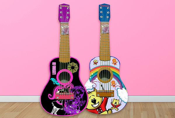 "Guitarra Para Niños 25"" Scorpion."