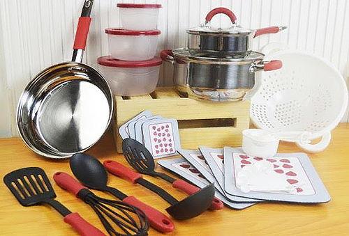 Renueva tu Cocina! Set de Cocina 16 o 32 Piezas