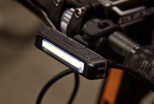 40% Luz led delantera para Bicicleta USB recargable