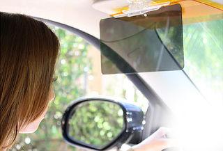 77% Protector visor día y noche para tu automóvil!