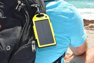 Cargador Portatil Solar 5000ma/h Usb Impermeable!
