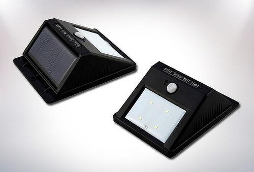 Pack 2 Foco Solar para Exterior de 6 Led!