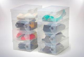 Pack 10 Cajas para Organizar Zapatos!