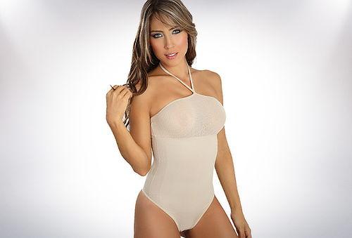 Body Tiras con Amarras Atras Bikini