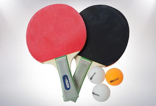Set de Ping Pong, Paletas y Pelotas Nautika.