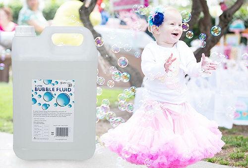 5 Litros de Liquido para Burbujas.