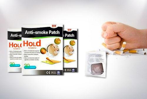 Pack 90 Parches Anti-Smoke Para Dejar de Fumar!