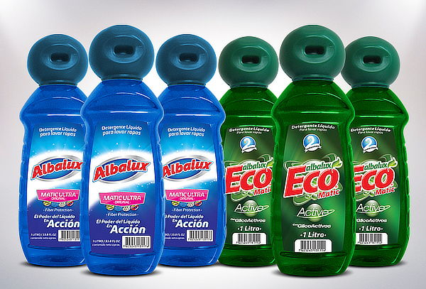 Pack 6Lt Detergente Matic Ultra o Matic Eco Active