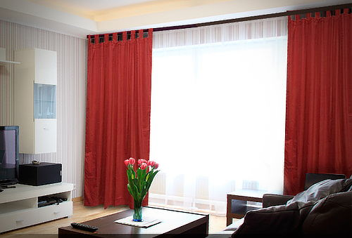 55% Cortina Paño Black Out Argolla o Presilla color, Jovial