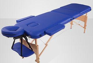 Camilla de masajes plegable profesional. Metálica o Madera