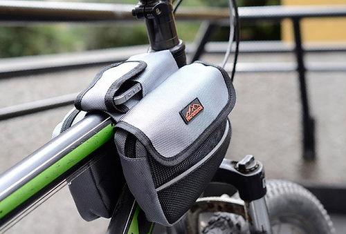 50% Mini Alforja para Marco Bicicleta en Colores a Elección