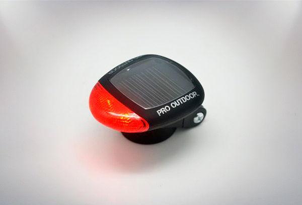 Luz Solar Trasera para Bicicleta Led Pro Outdoor