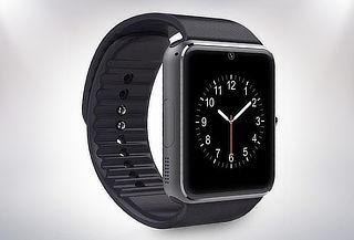 Smartwatch Negro con Bluetooth Soporta SIM