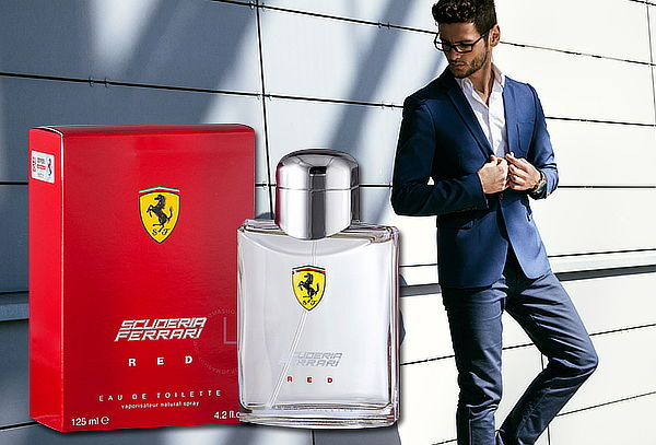 43% Perfume Ferrari Red Scuderia 125 ml edt