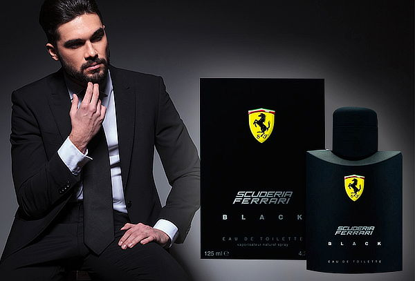 45% Ferrari Black Scuderia 125 ml edt.