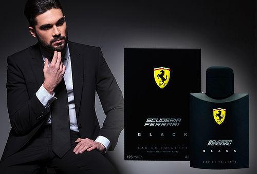 45% Ferrari Black Scuderia 125 ml edt.