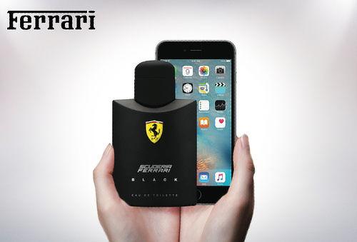 60% Carcasa iPhone 6 Perfume Ferrari + 2 Cargas de 25 ml!