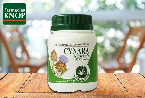 Pack 2 frascos de Cynara 50 cápsulas en KNOP