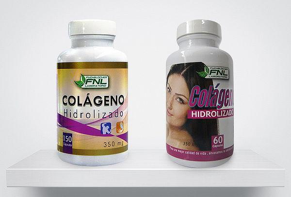 Colágeno Hidrolizado 60 o 150 Cápsulas