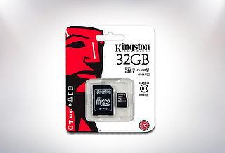 Tarjeta de Memoria Kingston 32 GB Clase 10