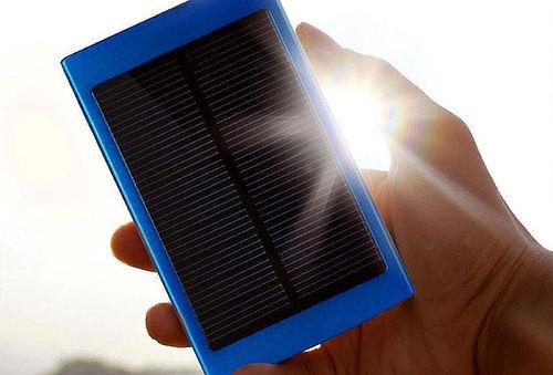 Cargador de batería solar de 20.000mah con panel Led