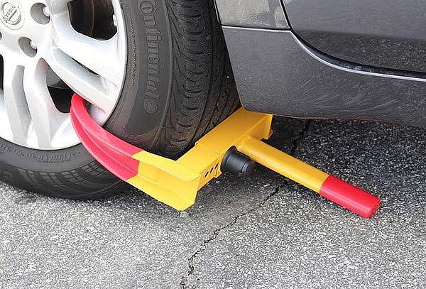 Bloqueo de rueda para Auto