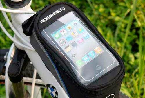 Bolso de Bicicleta Porta Celular