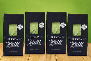 Pack 4 Paquetes de Té Caloa Haiti