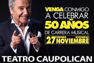 Entrada Tribuna Pollo Fuentes, Teatro Caupolican