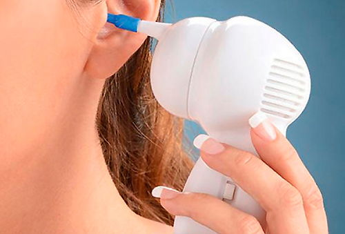 Limpiador de Oídos Automático