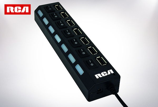 Hub 7 Puertos USB 2.0 RCA