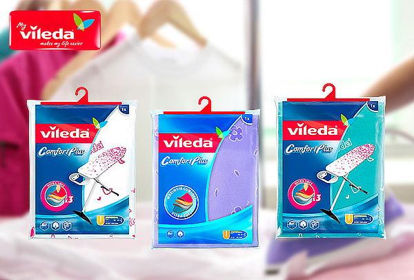 Funda Viva express confort plus para planchar de Vileda
