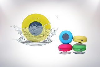 Parlante Waterproof bluetooth para la ducha